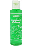 Emotion Lotion Water Based Flavored Warming Lubricant -...