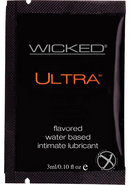 Wicked Ultra Silicone Lubricant .10oz...