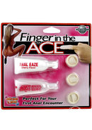Finger In The Ace Anal Kit With Finger Condoms