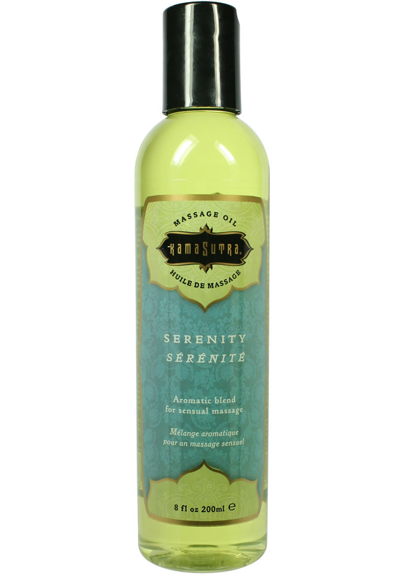 Kama Sutra Aromatic Massage Oil Serenity 8oz